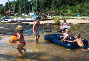 Kąpielisko i plaża dla dzieci
