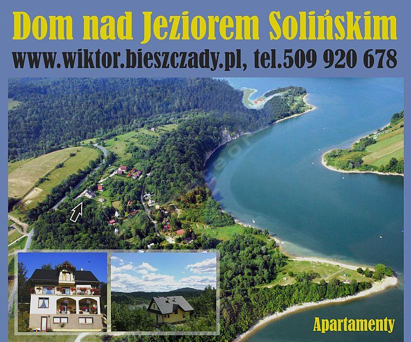 Arkadia Dom nad Jeziorem Solińskim
