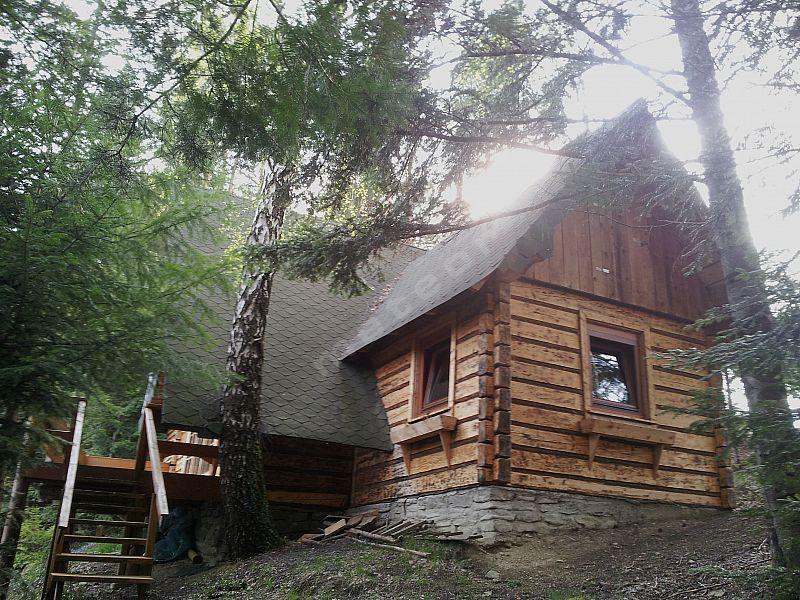 Całoroczny Domek Drewniany