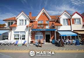 Dom Gościnny MARINA - widok na bistro i jadalnię