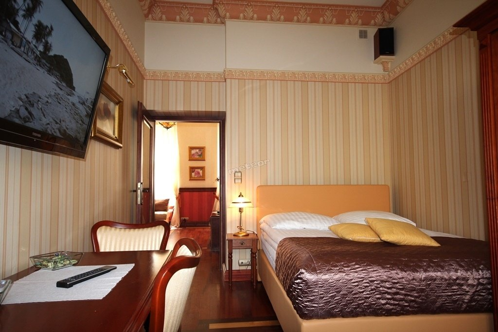 bedroom elegancki apartament Amber w sercu starego miasta Gdańsk
