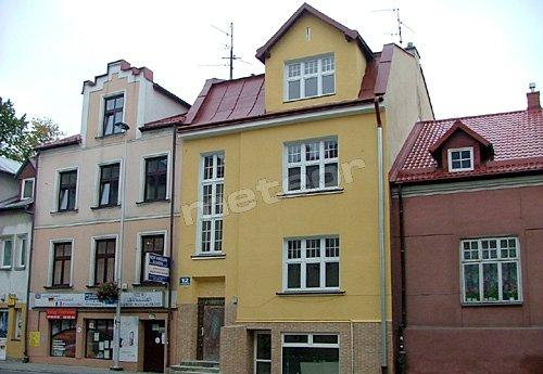 Dom Gościnny Ela Dąbrowskiego 12 żółta kamienica