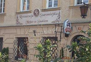 Restauracja Staromiejska Miejsce ze Smakiem