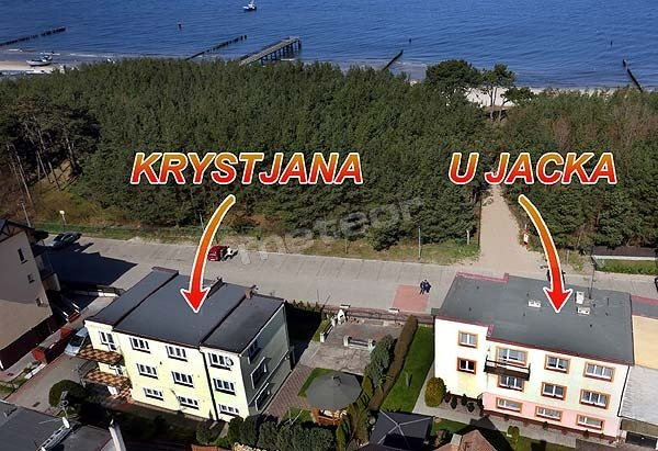 Mielno - U Jacka I Krystjana domy gościnne blisko morza