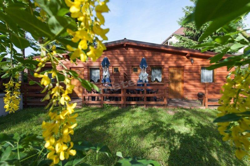 Domki drewniane  4 osobowe dwu pokojowe, bliźniaki.