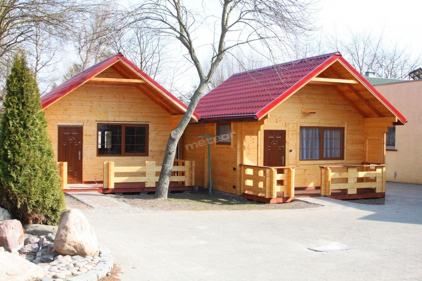 Nowe domki z bali