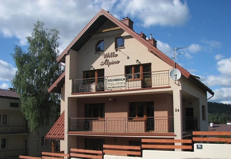Willa Alpina  latem