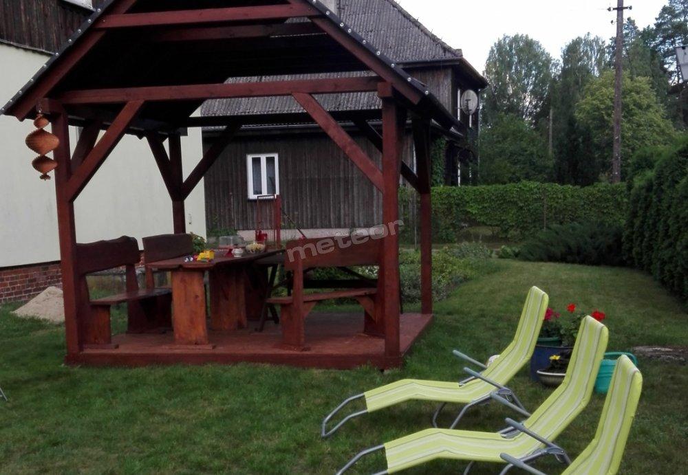 ogród do wypoczynku
