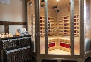 sauna na podczerwień InfraRed do dyspozycji naszych Gości
