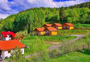 Domki Wołkowyja Zielona Przystań