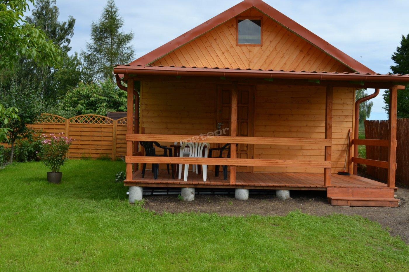 Drewniany domek 6-osobowy