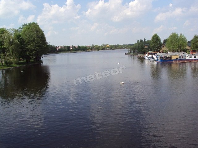 Rzeka Netta oraz port żeglugi