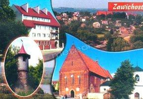 pocztówka z Zawichostu