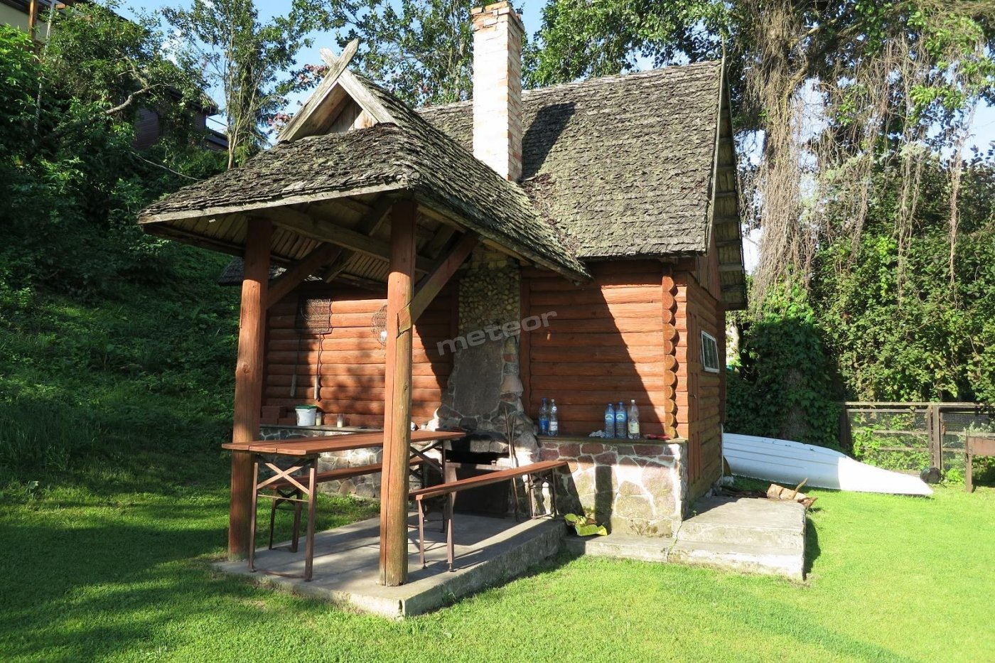 Mazurska bania (sauna)