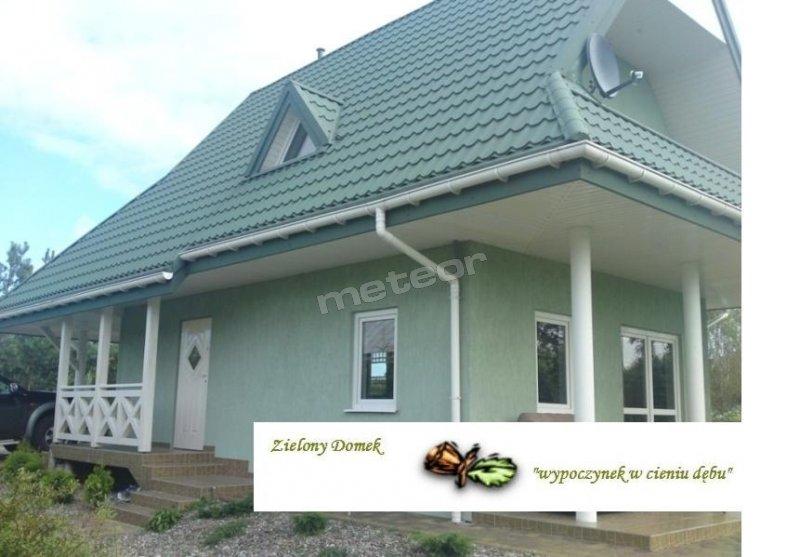 Zielony Domek - zewnątrz