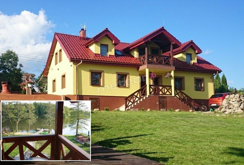 Mazurski Raj - Luksusowa Turystyka to dom, willa, apartamenty 110m2 bezpośrednio nad jeziorem Czarna Kuta