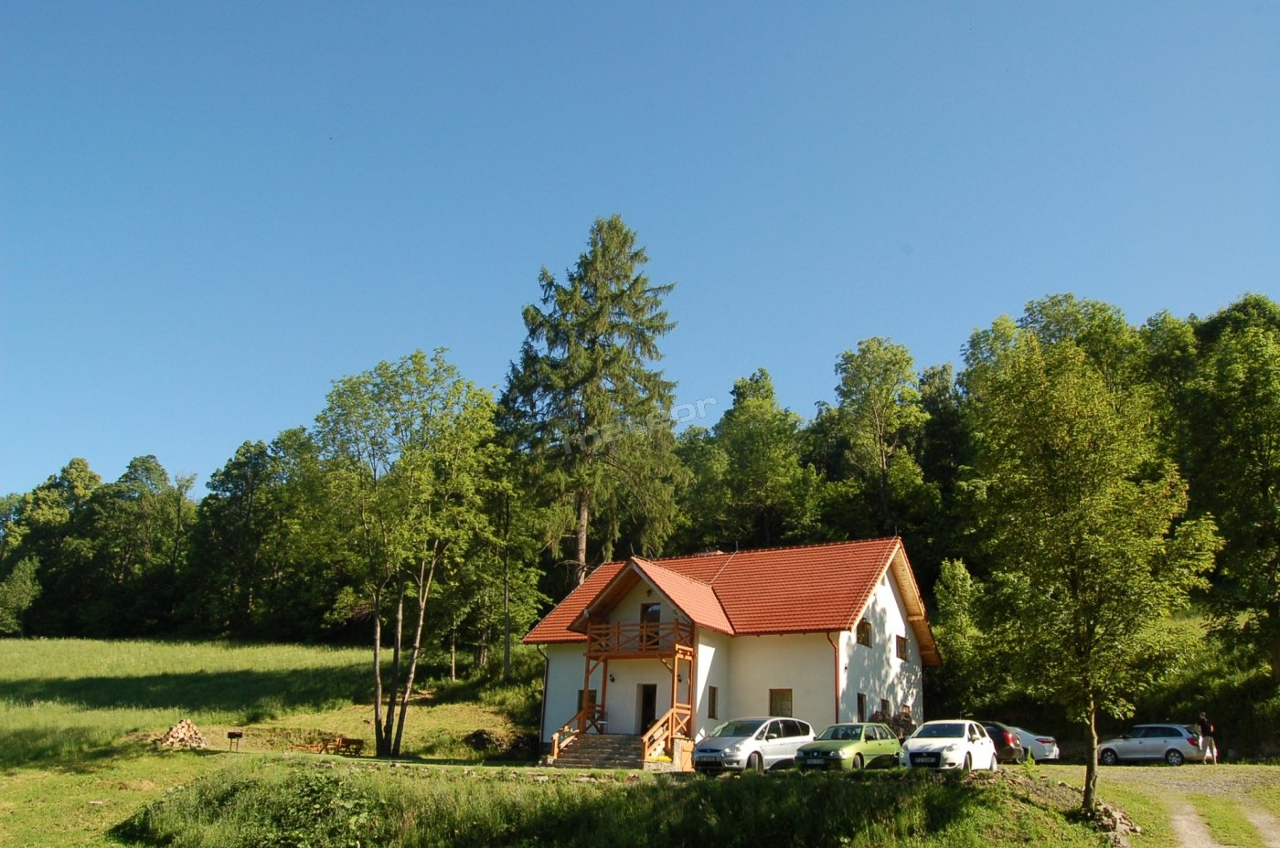 Pensjonat Pod Góra Karczmisko o poranku