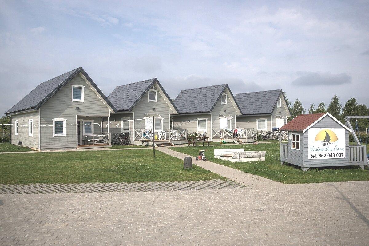 domki Jarosławiec nad morzem Nadmorska Oaza