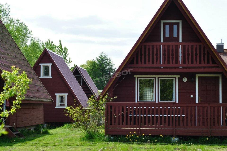 Domki przy plaży