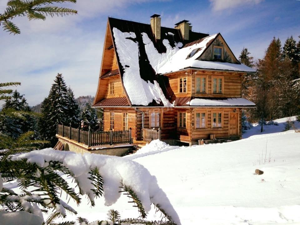 Jagodowa Polana zimą
